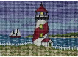 peterson tulip abstract canoodles needlepoint kit 5058