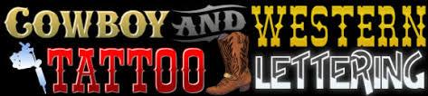 design a decal online cowboy western u0026 southwest lettering styles