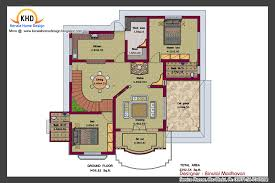 house plan and elevation 2292 sq ft kerala home kerala house