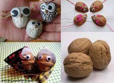 Seashell Craft Ideas For Kids - walnut shell turtle craft 4 walnut shell crafts pinterest