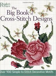 the big book of cross stitch designs 900 simple to sew