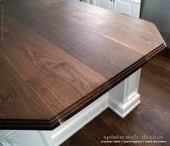 walnut kitchen island custom walnut slab kitchen island top by spiritcraft design furniture