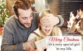 cute merry christmas wishes for boyfriend girlfriend romantic