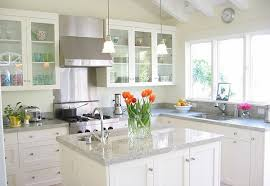 kitchen countertops with white cabinets white pearl granite kitchen countertop ideas granite book