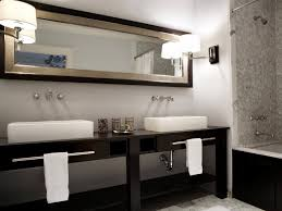 Master Bathroom Vanities Ideas by Narrow Double Sink Bathroom Vanity 47 Inch Modern Double Sink