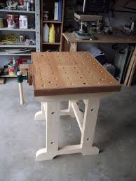 Woodworking Bench Top Surface by Best 25 Small Workbench Ideas On Pinterest Compact Kitchen