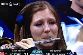 Team Meme - piccolo player cried when her team lost and now she s a meme
