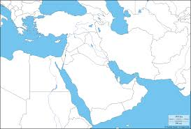 Physical Map Of Southwest Asia by Map Of Middle East Per Website