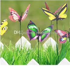ful wings big butterfly stakes garden ornaments supplies