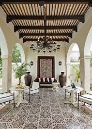 lawn u0026 garden spanish courtyard design with metal pergola also
