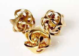 3d printed gold jewellery 3ders org shapeways introducing 3d printing materials polished