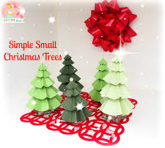simple small christmas trees stay at home mum christmas crafts