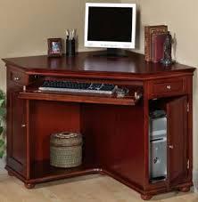 Corner Hutch Computer Desk Wood Cherry Corner Desk With Hutch Decor Ideas Small Cherry Desk