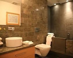 slate tile bathroom modern slate tile bathroom idea in with a