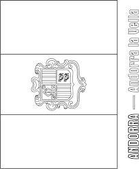 andorra flag coloring page download free andorra flag coloring