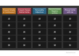 thanksgiving jeopardy 29 free esl opposites powerpoint presentations exercises