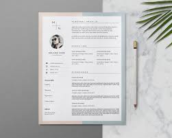 photographer resume cover letter 20 resume cover letter template word eps ai and psd format editable resume and cover letter template