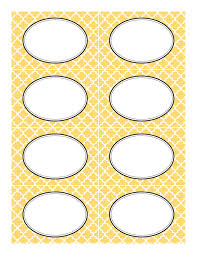 Candy Labels For Candy Buffet by Yellow Moroccan Tile Label Template Jpg 1 237 1 600 Pixels