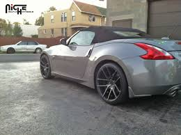 nissan 370z custom rims gallery niche wheels