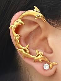 ear wrap dolphin ear wrap jewelry