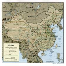 Nanking China Map by Nationmaster Maps Of China 95 In Total