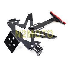 aliexpress com buy number plate bracket for kawasaki ninja 250