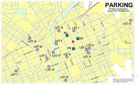 York Pennsylvania Map by Monthly Parking Rates City Of York Pennsylvania