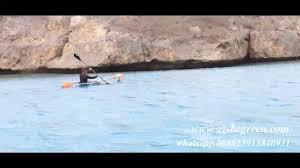 luxury clear transparent fishing kayak with fiberglass boat hulls