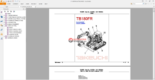 takeuchi wiring schematic takeuchi tb153fr service manual