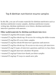 personal trainer resume sample no experience nutritionist ex peppapp