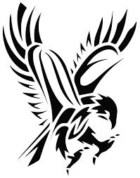 tribal hawk tattoo pictures to pin on pinterest tattooskid