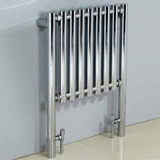 phoenix mia chrome designer radiator 800 x 600mm uk bathrooms