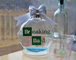 breaking bad tree ornament