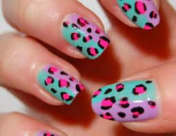 31 cute cheetah nail designs stylepics
