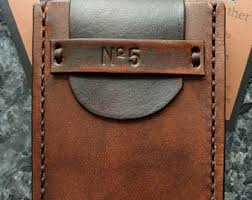 Business Card Case Leather Leather Card Holder Leather Card Case Envelope Wallet Leather