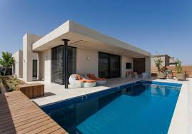 swimming pool house plans concrete house plans flat roof with spacious terrace with cozy