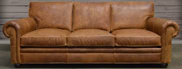 Leather Sofa Full Grain And Top Grain Leather At - Full leather sofas