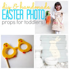 easter photo props diy handmade easter photo prop ideas for toddlers