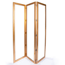 Beveled Mirror Tri Fold Mirror W Gold Frame And Beveled Mirror Decor Nyc Store