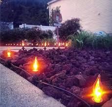 flicker flame string lights flicker flame string lights light a path for trick or on bulb
