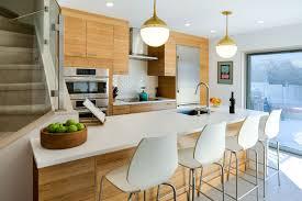 modern lambertville kitchen with ultracraft niece lumber