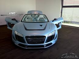 Audi R8 V10 Spyder - dub magazine ppi speed design gmbh creates new kit for audi r8