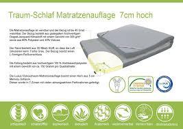 kaltschaum topper 160x200 ebitop topper matratze matratzenauflage ebi a1 160 7 bezug