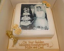 golden wedding cakes anniversary cakes of cake bristol