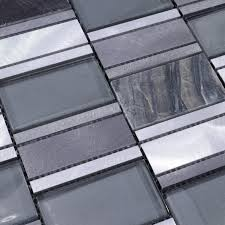 beautiful metal glass tile for bathroom wall tiles and kitchen