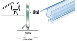 Leaking Shower Door Diy Frameless Shower Door Frameless Glass Shower Doors Ceiling