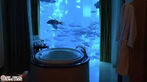 insane underwater hotel suite atlantis the palm in dubai very