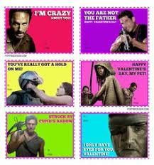 Walking Dead Valentines Day Meme - funny greeting card valentine s day anniversary birthday