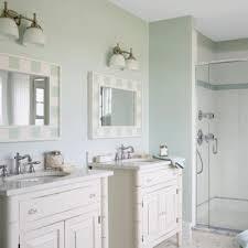 Cottage Bathroom Lighting A Coastal Bathroom That Requires Simple Yet Chic Lighting