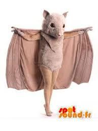 bat costume purchase mascot bat beige bat costume in mouse mascot